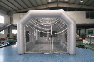 Portable Paint Booth >> Xl Portable Inflatable Paint Booth From Usa 5x8x3 5 Meters Ships