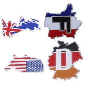 Aluminum-3D-Car-Sticker-Flag-Emblem-Badge-Grill-Decal-Bumper-Decoration-LC