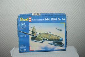 MAQUETTE-AVION-MESSERSCHMIDT-ME-262-A-1A-REVELL-PLANE-PLANO-NEUF-1-72-MODEL-KIT