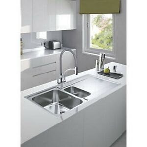 Pleasant Details About Franke Maris Slim Top Inset Kitchen Sink Stainless Steel 1 5 Bowl 1000 X 510Mm Home Interior And Landscaping Oversignezvosmurscom