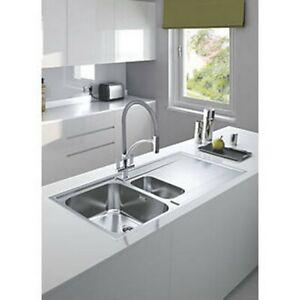 Marvelous Details About Franke Maris Slim Top Inset Kitchen Sink Stainless Steel 1 5 Bowl 1000 X 510Mm Download Free Architecture Designs Scobabritishbridgeorg