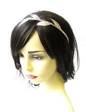 Silver Leaf Headband Headpiece Grecian Vine Hair Crown Laurel Roman Olive 1981