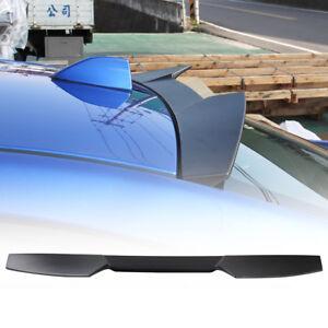Item In LA Unpainted For SUBARU WRX STI V-Look Window Roof Spoiler Sedan 2019