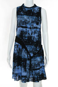Proenza-Schouler-Multi-Color-Silk-Tiered-Abstract-Dress-Size-2-1150-New-109058