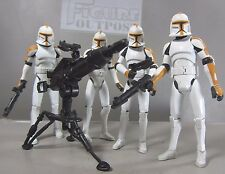 CLONE TROOPERS 212th ATTACK BATALLION Army Builder Lot x4 Star Wars Toy Figures