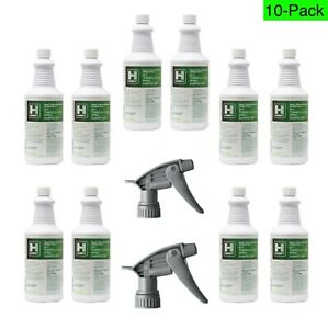 Husky 814 Quat Tuberculocidal Spray Disinfectant Cleaner, Ready To Use (10-Pack)
