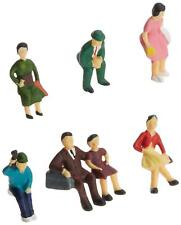 NEW Model Power #5706 HO Scale Sitting People Figures