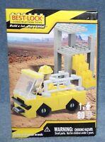 Best-lock Building Set 2008 Construction Building Set 80 Pieces