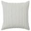 IKEA Ingalill Housse de coussin 50X50 blanc//gris à rayures