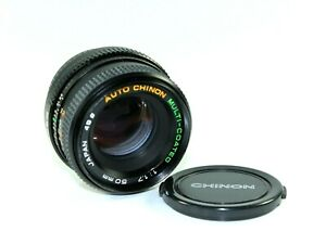 Chinon-MC-50mm-1-7-Prime-Camera-Lens-for-Pentax-K-PK-Mounts