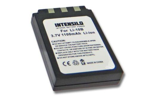 Batería 1100mAh para OLYMPUS LI-10B LI10B LI10 B 10