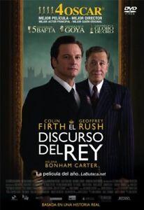 EL DISCURSO DEL REY DVD nuevo / precintado THE KING'S SPEECH new / sealed