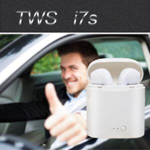 I7S TWS sans fil Bluetooth casque Mini écouteurs iPhone Android