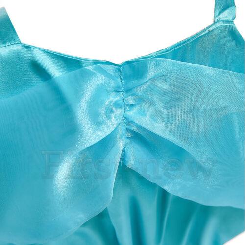 Aladdin Costume For Princess Jasmine Cosplay Christmas Outfit Girls Womens Dress