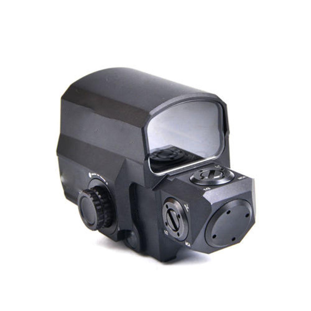 Tactical Reflex Red Dot Sight Matte 1 MOA Dot 20mm Picatinny Rail For Pistol UK