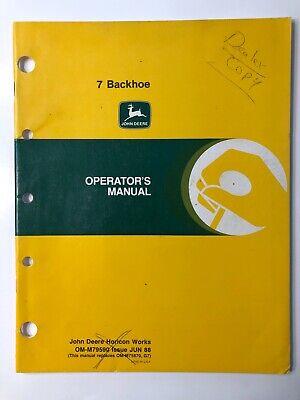 John Deere 316 318 420 lawn garden Tractor factory operators manual late models