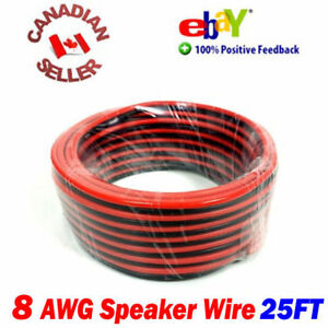 25-FT-15m-High-Definition-8-Gauge-8-AWG-Speaker-Wire-Cable-Home-Theater