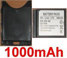 Coque + Batterie 1000mAh type BL-5F Pour Nokia N95