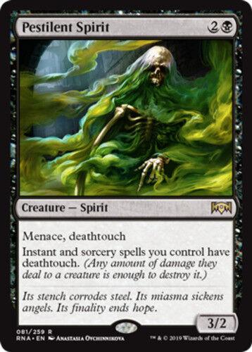 4x Pestilent Spirit NM-Mint, English Ravnica Allegiance MTG Magic