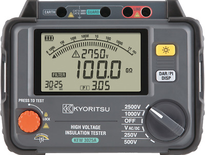 Kyoritsu 3025a 2 5kv Digital High Voltage Insulation