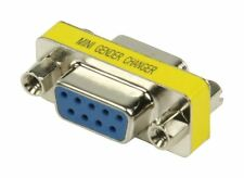 Glaxio® Mini-adapter 9pin Female to 9 pin female D-Sub Mini Gender Changer