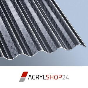 Details Zu Acryl Lichtplatten Wellplatten Profilplatten 3mm Sinus7618 Wabe Graphit