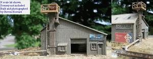 N Scale Laser Cut Kit Farmers Fertilizer Supply Blair Line 1007