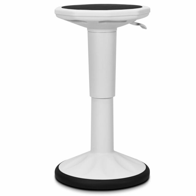 Fantastic Wobble Chair Height Adjustable Active Learning Stool Sitting Flexible Home White Ibusinesslaw Wood Chair Design Ideas Ibusinesslaworg