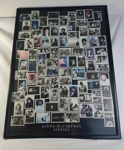 Linda-McCartney-Sixties-Framed-Print-Poster-Jimi-Hendrix-The-Beatles-73-x-54cm