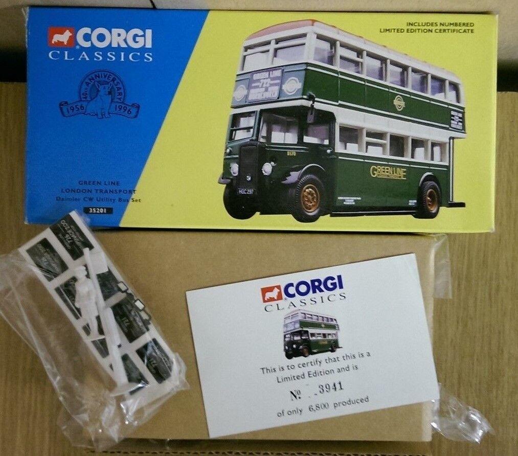 Corgi 35201 Daimler CW Utility Bus Set London Tran. Ltd Edition No. 3941 of 6800