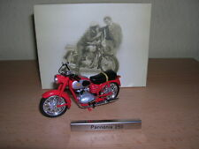 Atlas Pannonia 250 rot red DDR Ungarn Motorrad Moped 1:24 Motorbike Moto