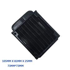 Hot Computer Radiator Water Cooling Cooler for CPU LED Heatsink 80mm Aluminum US