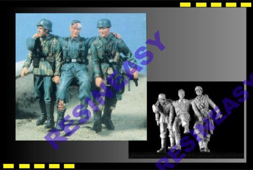 Free shipping Resin model kit 1//35 KIRIN 25031WWII Casualty of War X 3 figure