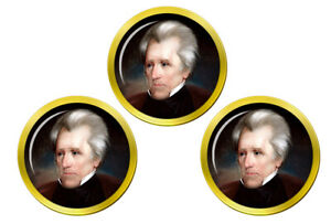 President-Andrew-Jackson-Marqueurs-de-Balles-de-Golf