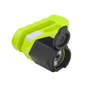6mm Steel Pin w//Pouch Mammoth Motorcycle Brake Disc Lock Yellow LOD6P