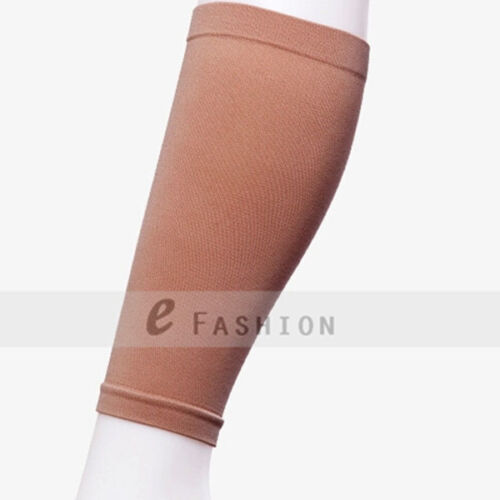 VARICOSE VEINS SOCK COMPRESSION THIN WEIGHT LOSS CALVES SHAPER BEIGE ONE SIZE