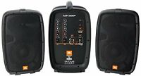 Jbl Eon206p 6.5 Packaged Pa System 160w Powered Mixer. U.s. Authorized Dealer