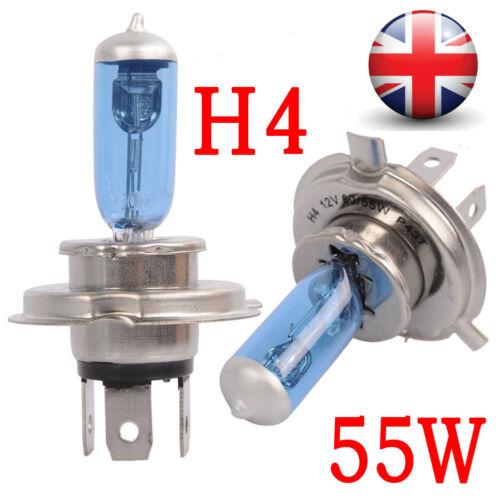 H1//H3//H4//H7//H11 12V Super White Halogen Headlight Bulbs Dipped Main Beam Lamp UK