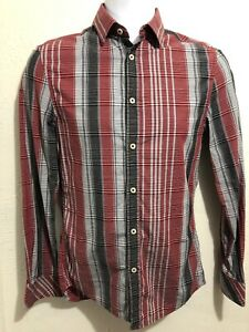 Armani-Exchange-A-X-Long-Sleeve-Casual-Shirt-Sz-XS-Mens