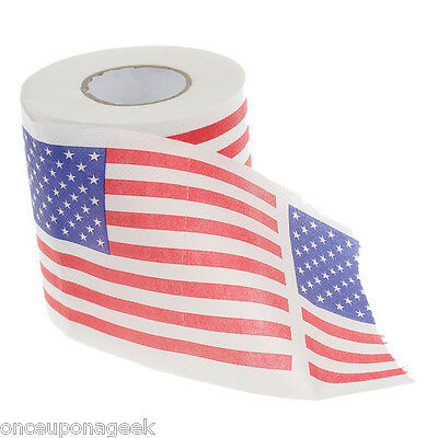 America Flag Toilet Paper / USA Pattern Roll Paper