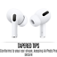 thumbnail 8 - Apple Airpods Pro with Wireless Charging Case Silicone Tips Noise Cancel iPhone