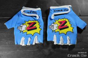 Retro Peugeot Z-Team Road Cycling Team Half Finger Mitts Gloves