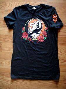 e0f5a912 S.F. Giants ( Grateful Dead 50th Anniversary) Women's T-Shirt Size L ...