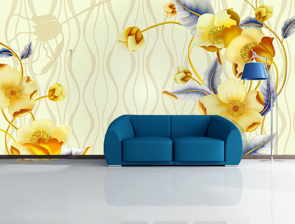 3D Charming Flower 10 Paper Wall Print Decal Wall Wall Murals AJ WALLPAPER GB