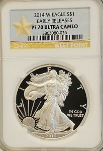 2014-W-Proof-Silver-Eagle-NGC-PF70-Ultra-Cameo-Early-Releases