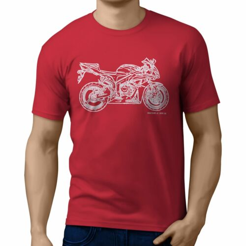 JL Illustration For A Honda CBR600RR 2007 Motorbike Fan T-shirt
