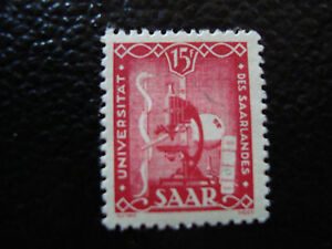 SARRE-allemagne-timbre-yvert-et-tellier-n-252-n-A6-stamp-germany-A