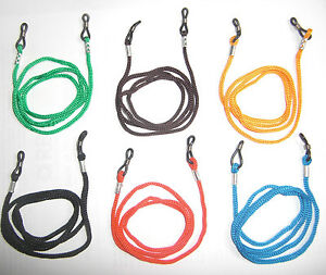 1-2-6-12-Glasses-Straps-Neck-Cord-Lanyard-for-Glasses-6-colours-to-choose-from