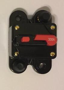 scosche 300 amp 12 volt circuit breaker fuse holder car audio stereo rh ebay com
