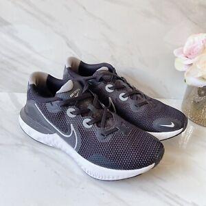 Nike-Renew-Run-Mens-Running-Shoes-Lightweight-Sneakers-Black-Gray-White-US-9-5